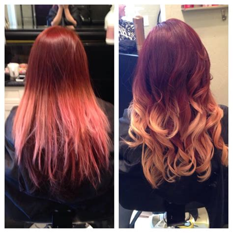 911 Hair Emergency Did A Major Makeover Deep Red With