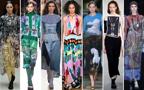 winter  dresses art inspired patterned styles