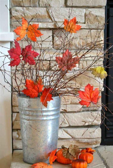 chambre adulte pas chere décoration pas cher avec des feuilles d 39 automne