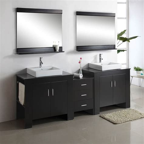 double sink bathroom vanities   qnud