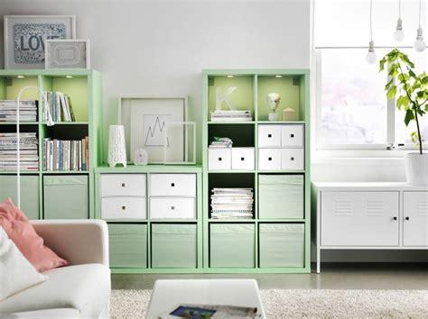 Regal Kallax Mint Von Ikea