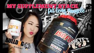 Amazing Supplement Stack For Building Lean Muscle
