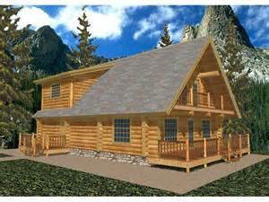 A Frame Log Cabin Home Plans