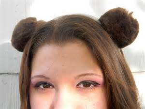 ear candy earrings brown teddy ears headband