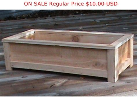 cedar planter plans wood working plans outdoor planters