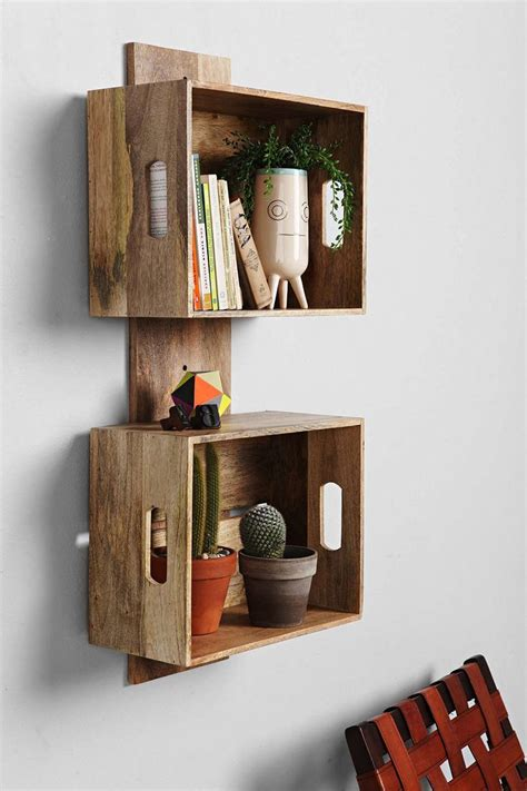 Decorating Ideas With Crates by 29 Ways To Be Sustainable By Decorating With Wooden Crates