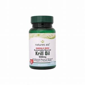 Buy Natures Aid Krill Oil 500mg 60 Capsules