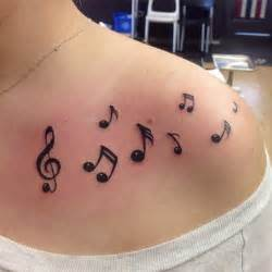 Small Music Note Tattoos for Women