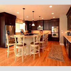 Kitchen With Island In Agawam, Ma Designed By Kitchen And