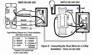 defiant daylight adjusting timer in a 3 way the home With timer switch wiring
