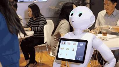 Robot Humanoid Pepper Pizza Softbank Job Getting