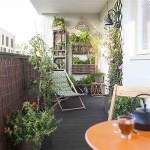 Jardin Et Balcon : bemerkenswert amenager son balcon pas cher cr er un jardin ~ Premium-room.com Idées de Décoration