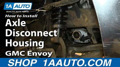 install replace front axle disconnect housing