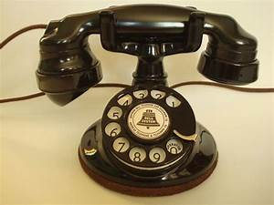Antiqueoriginal 1920s Round Western Electric 102 Telephone