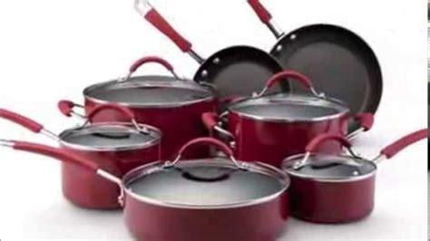 kitchenaid  piece porcelain nonstick cookware set