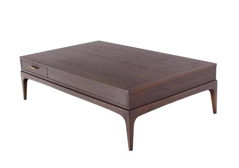 rectangle tables for sale large rectangle one drawer walnut coffee table for sale at