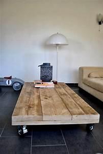 Fabriquer Une Table Basse En Palette : la table basse palette 60 id es cr atives pour la fabriquer ~ Melissatoandfro.com Idées de Décoration
