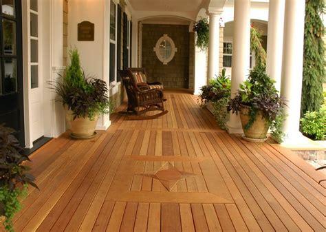 Patio Wood Flooring Ideas