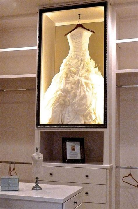 30 ways to display your wedding dress and accessories happywedd