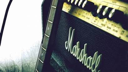 Marshall Amp Guitar Background 1080p