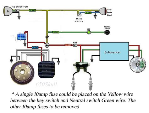 xs650 wiring diagram pamco ignition pamco ignition yamaha xs650 forum