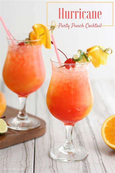 Hurricane Party Punch Recipe • Bread Booze Bacon
