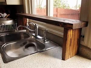 Pallet Wood Over-the-Sink Window Shelf (Kitchen Update 5