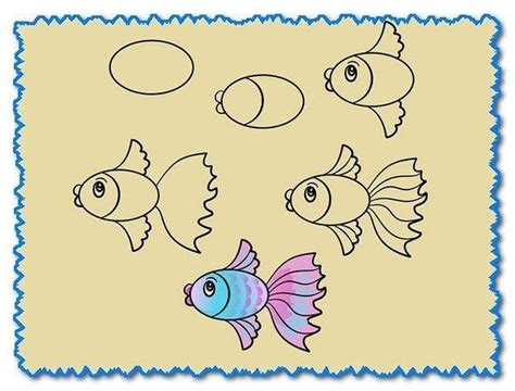 tiere für kinderzimmer die besten 25 malvorlage fisch ideen auf