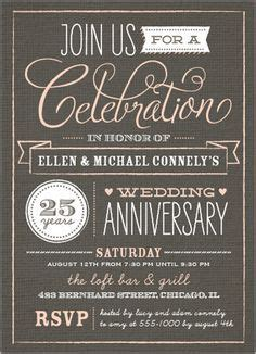 Anniversary Invitations on Pinterest Anniversary Party