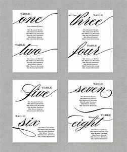 Printable Wedding Seating Chart 5x7 By Paperandlaceshop On