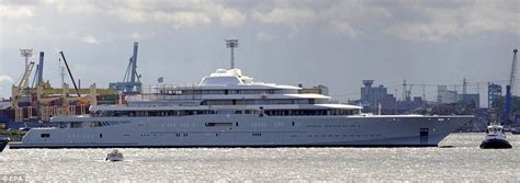 admiral abramovich launches  million mega yachtski