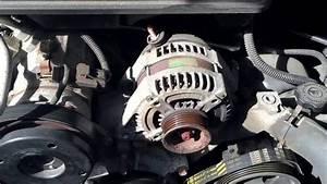 2007 Jeep Grand Cherokee Alternator Change 2005-2010