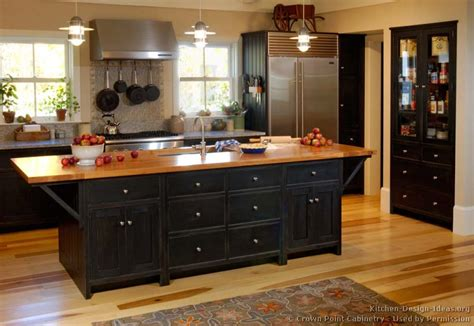 black kitchen ideas pictures of kitchens traditional black kitchen