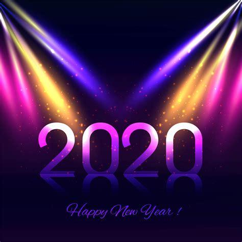disco lights   year background