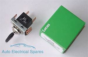 Lucas 31788 57sa 3 Position Toggle Switch For Classic Mini Triumph Land Rover 5012445107737
