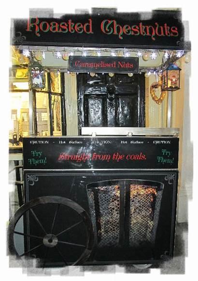Chestnut Chestnuts Vendor Street Roasted Roast Roasting