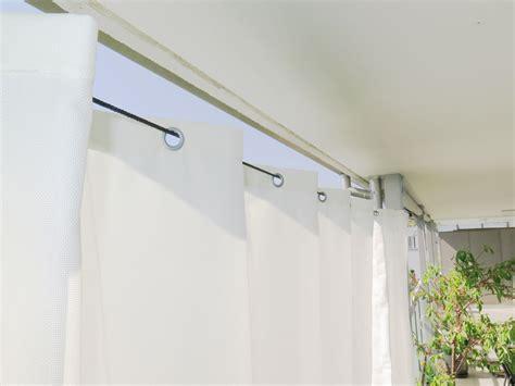 Vorhang Für Vorhangschiene by Terrassen Vorhang Mit Einfacher Montage Vorhang123 At