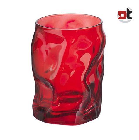bicchieri colorati bormioli 3 bicchieri colorati sorgente 30 cl sagomato acqua