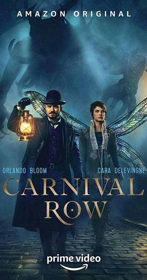 carnival row tv series  release info