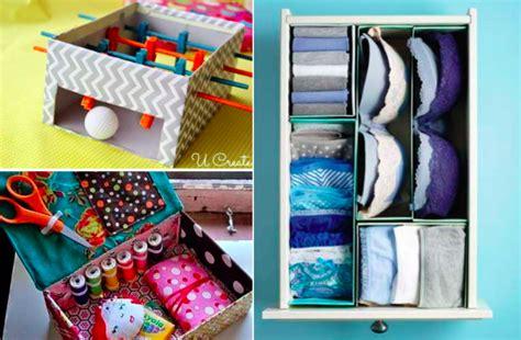 la cuisine de julie 17 idées pour recycler les boîtes à chaussures des idées