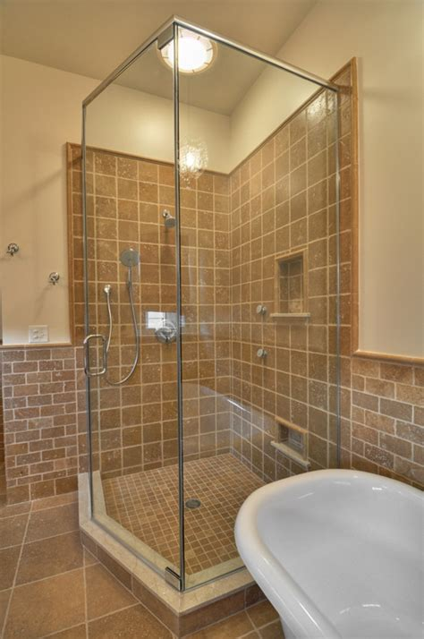 custom shower air jet clawfoot tub njw construction