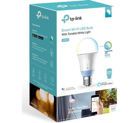 tp link lb120 smart wifi led bulb with tunable white light
