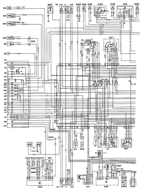 mercedes 190e 1993 wiring diagrams hvac