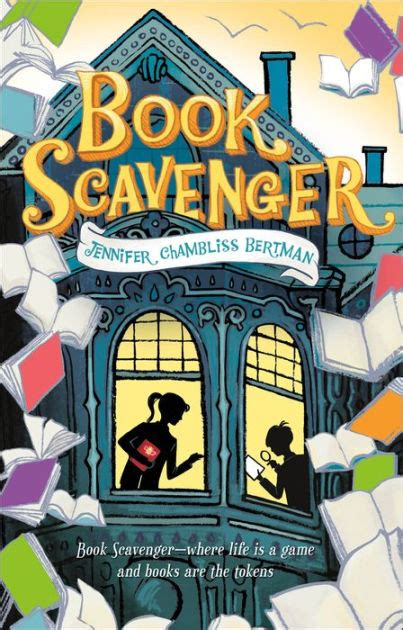 book scavenger book scavenger series   jennifer