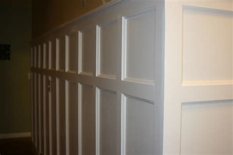 Diy Wall Paneled Wainscot