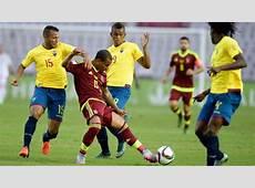Eliminatorias Ecuador Venezuela Horario y dónde ver