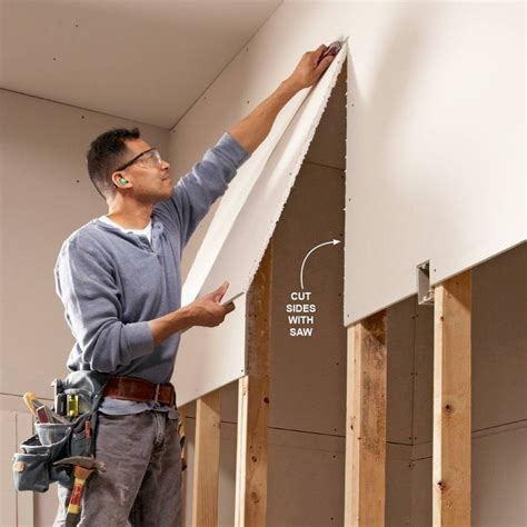 whats the best way tohang lights on a tree vertical or horizonatal professionals their drywall set up ideas handyman how to in 2019 drywall
