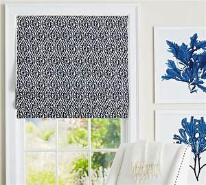 gretchen cordless roman shade pottery barn With cordless roman shade pattern