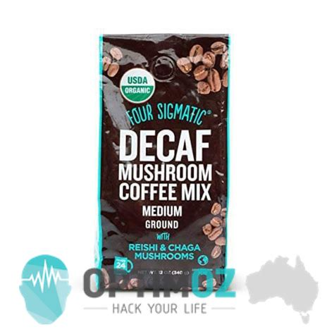 The caffeine in coffee also provide a major boost to your energy, but for some people it might be too jittery and decaf coffee would be preferred. Four Sigmatic Reishi & Chaga Decaf Ground Mushroom Coffee #keto #biohacking #ketogenic # ...