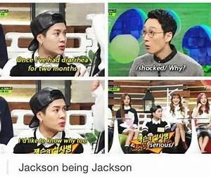 Jackson wang qu... Funny Got7 Quotes